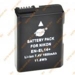 Аккумулятор EN-EL14 для Nikon D3100 D3200 D5100 D5200